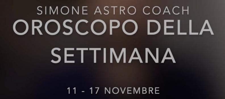 Oroscopo settimana 11 – 17 novembre