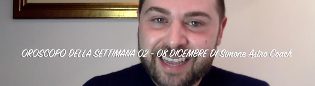 Oroscopo settimana 02 – 08 dicembre 2019
