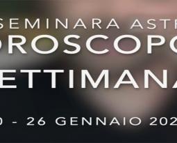 Oroscopo settimana 20 – 26 gennaio 2020
