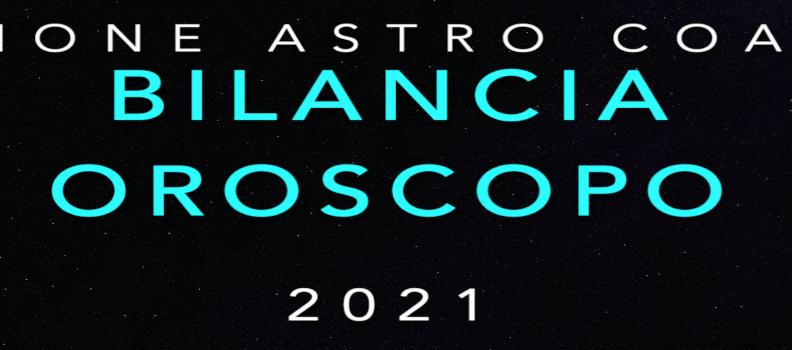 Oroscopo 2021 – Bilancia