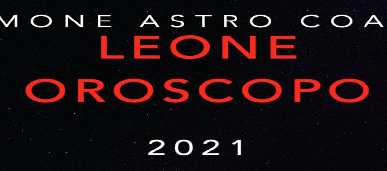 Oroscopo 2021 – Leone